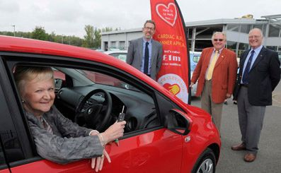 Nunthorpe woman becomes lucky owner of a brand new SKODA.